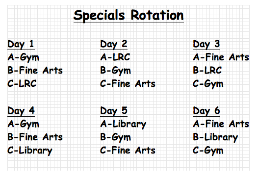 Specials Rotation pic
